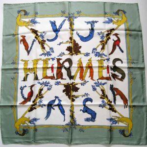 Alphabet 3 Hermes Scarf
