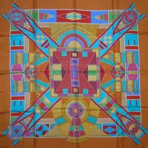 Art Indien des Plaines Hermes Scarf