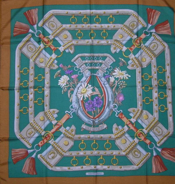 Aux Champs Hermes Scarf