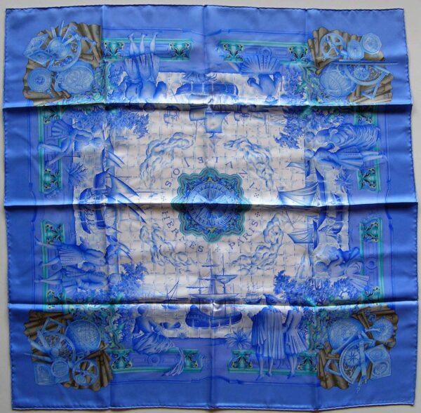 Azulejos Hermes Scarf