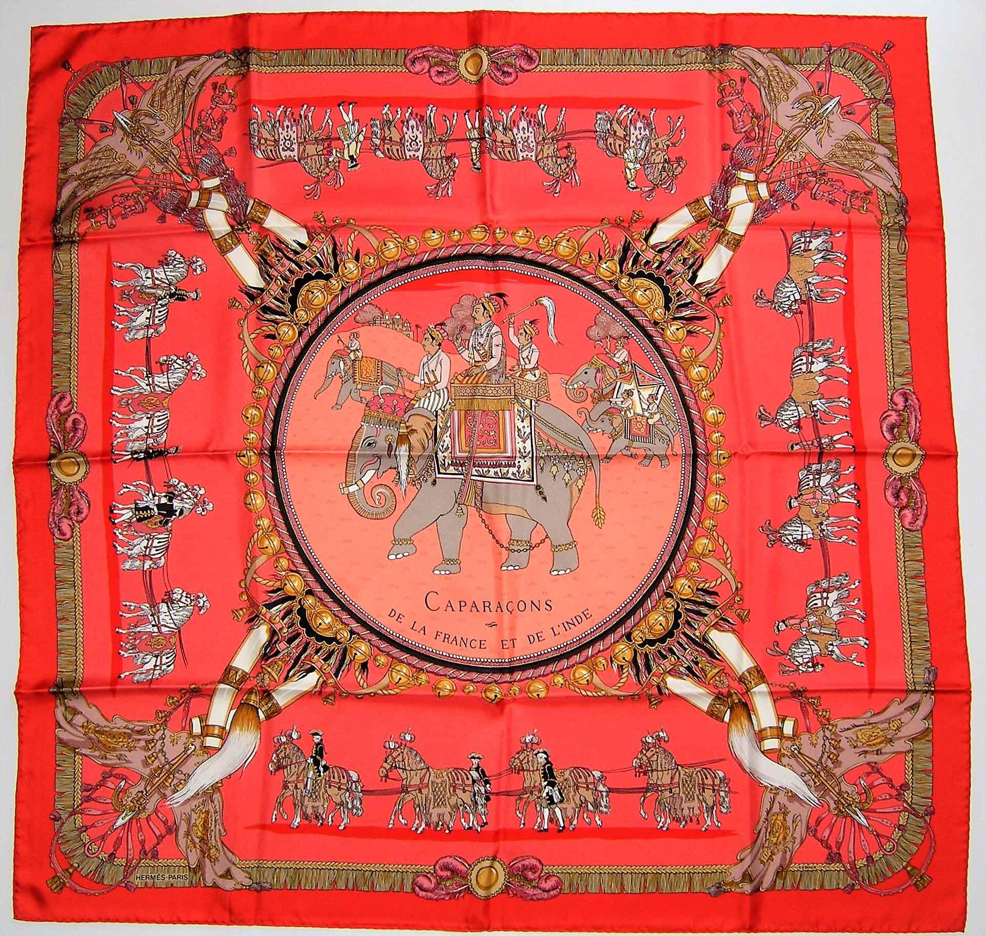 abd4468bdc6a Caparacons de la France et de L Inde Hermes Scarf - It s All Goode
