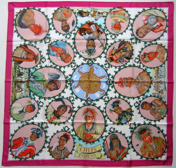 Chefs Indiens Hermes Scarf