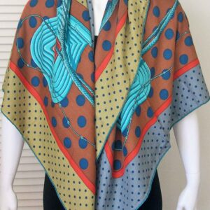 Clic Clac Hermes Cashmere Shawl