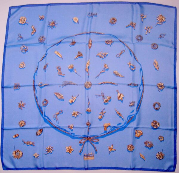 Clips Hermes Scarf