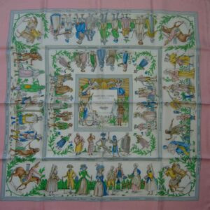 Costumes Civils Actuels Hermes Scarf