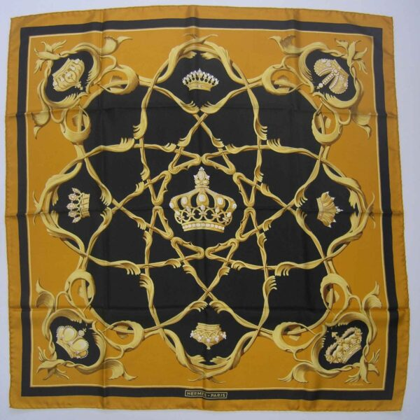 Crowns Hermes Scarf