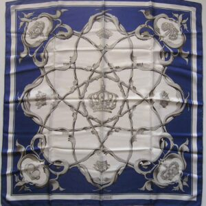 Crowns - Couronnes Hermes Scarf