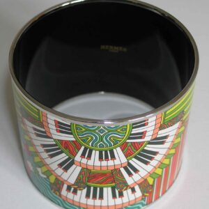 Point d'Orgue Bangle - Hermes Enamel Mega Bracelet
