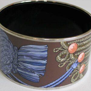 Brandebourgs Bangle - Hermes Enamel Bracelet