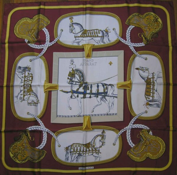 Grand Apparat Hermes Scarf