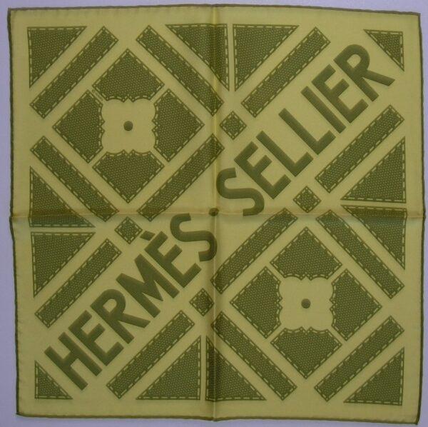 vintage Hermes scarf its all goode