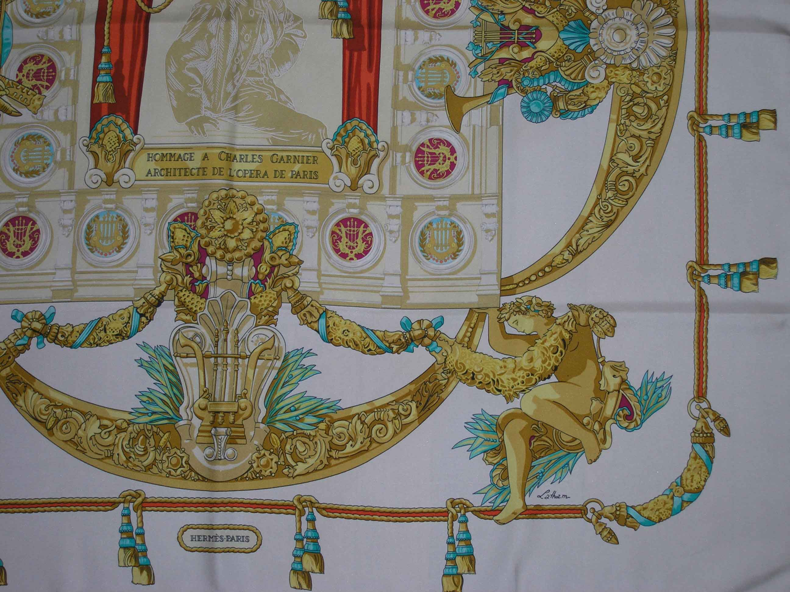8766304898e2 Hommage a Charles Garnier Hermes Scarf - It s All Goode