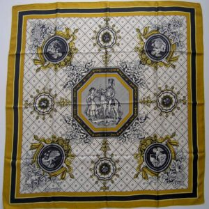 Hussard et Cantinier Hermes Scarf