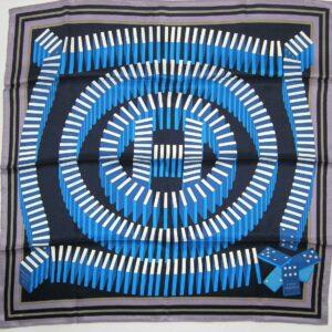 L'Effet Domino 70cm Hermes Scarf