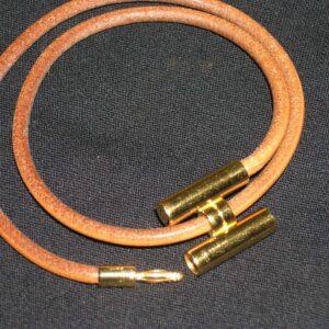 Bracelet Hermes Cuir Tournis Courroie Ronde.