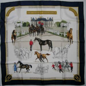 Les Haras Nationaux Hermes Scarf