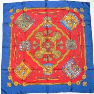 Les Tambours Hermes Scarf