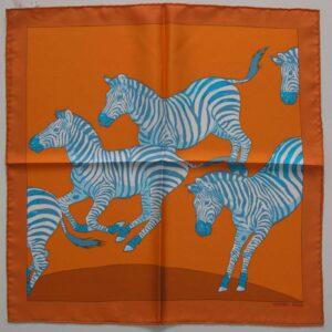 Les Zebras Hermes Pochette 45cm
