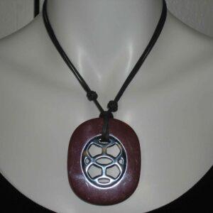 Lift Hermes Pendant Burgundy