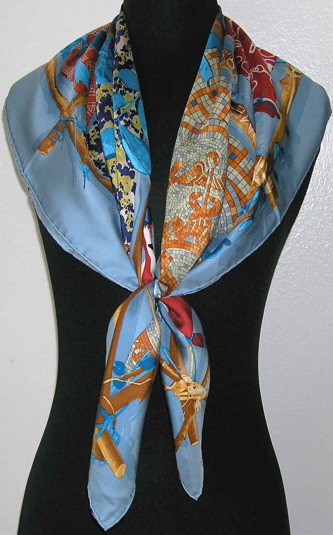 Le Robinson Chic Hermes Scarf It S All Goode