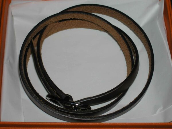 Bracelet - Hermes Triple Wrap Leather Bracelet