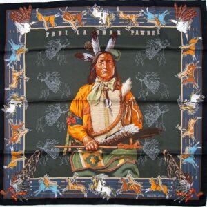 Pani La Shar Pawnee 70cm Hermes Scarf