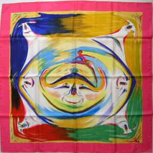 Smiles in the Third Millenary Hermes Scarf