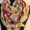 Treille et Muscade Crepe - Hermes Shawl