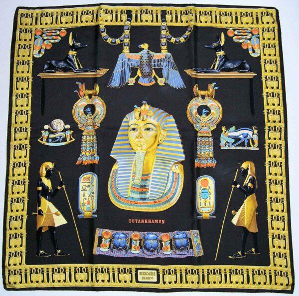 Tutankhamun Hermes Scarf