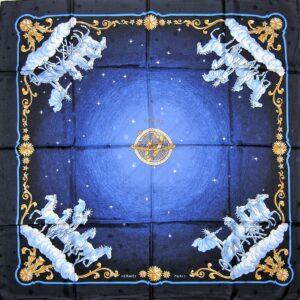 Cosmos Jacquard Hermes Scarf