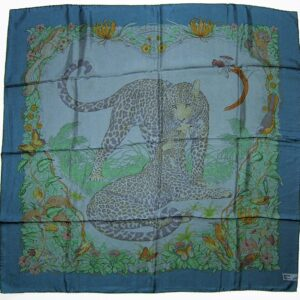 Jungle Love Dip Dye Hermes Scarf