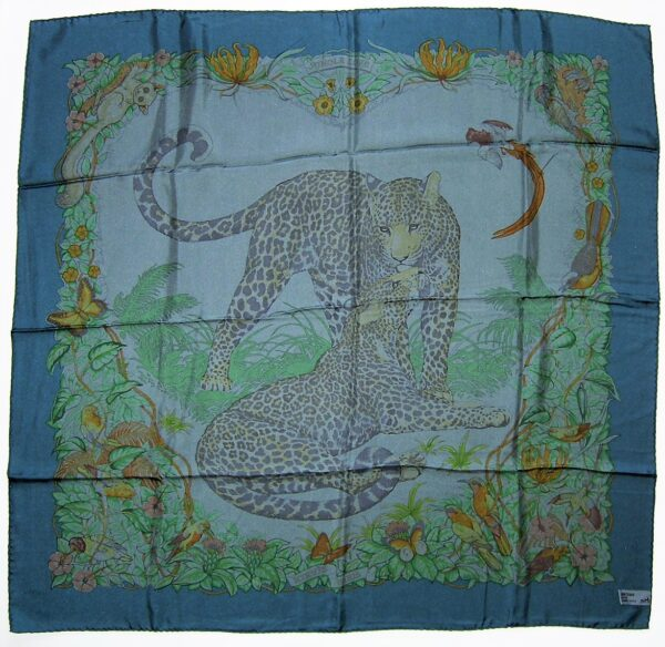 Jungle Love Dip Dye Hermes Scarf