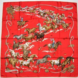Les Mustangs Hermes Scarf