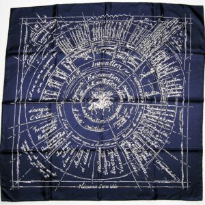 Naissance d'une Idee Hermes Scarf