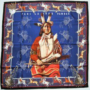 Pani La Shar Pawnee Hermes Scarf