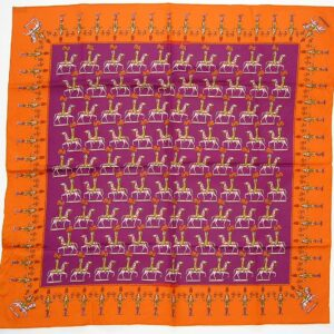 Les Artificiers 27 inch Cotton Hermes Scarf