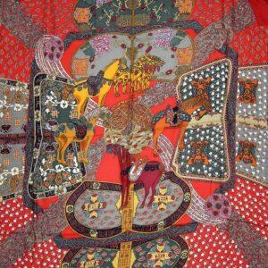 Art des Steppes Hermes Cashmere Shawl