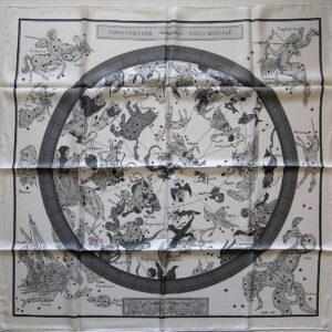 Hemisphaerium Coeli Boreale Zodiaque Hermes Scarf