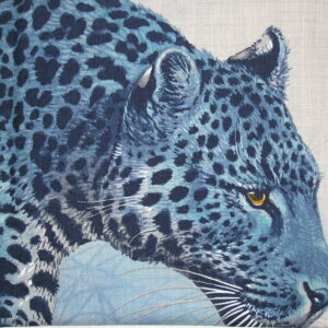 Panthera Pardus Hermes Cashmere Shawl