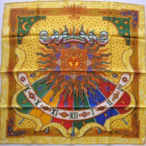 Carpe Diem Hermes Scarf - Seize the Day