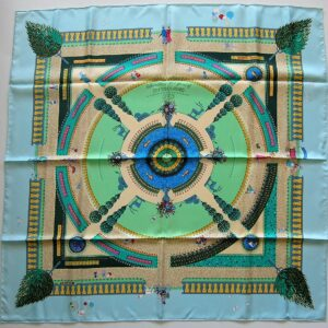 Central Park Celebrating 150 Years Hermes Scarf