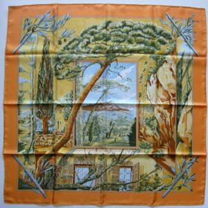 Promenade au Pays de Cezanne Hermes Scarf