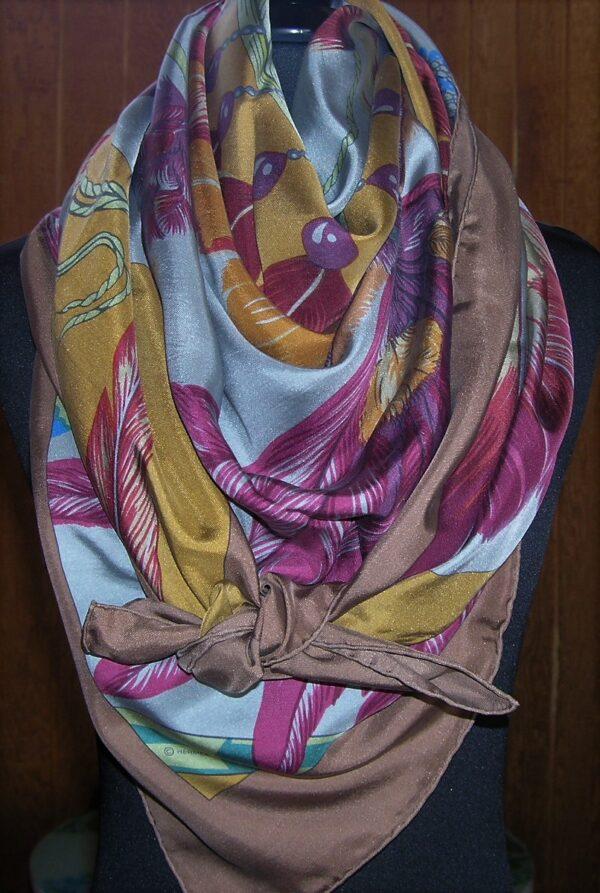 Brazil Dip Dye 140cm Hermes Shawl
