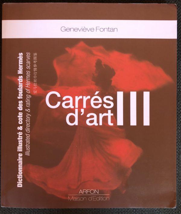 CARRES D'ART III Genevieve Fontan Arfon Maison d'Edition