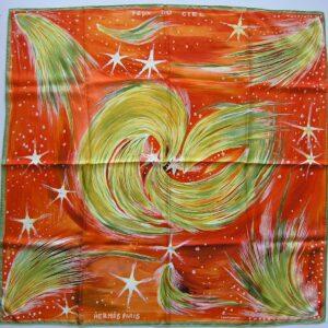 Feux du Ciel Hermes Scarf 2000 Kwumi Sefedin