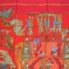 Le Temps des Marionettes Hermes Scarf 1996 Annie Faivre