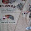 Plumes Hermes Cashmere Shawl - de Linares