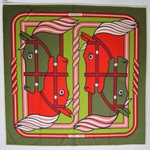 Quadrige Hermes Fluide Jersey de Soie Green