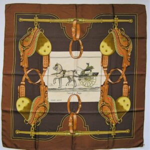 Carrick a Pompe Hermes Scarf 1973 Philippe Ledoux