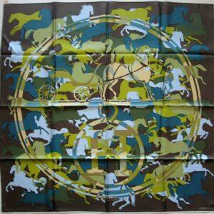 Ex Libris En Camouflage Hermes Scarf 2010